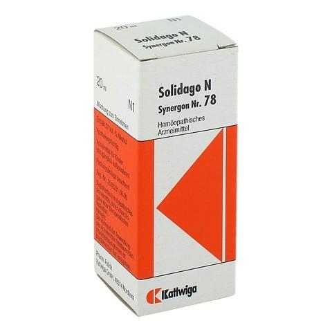 SYNERGON KOMPLEX 78 Solidago N Tropfen 20 Milliliter