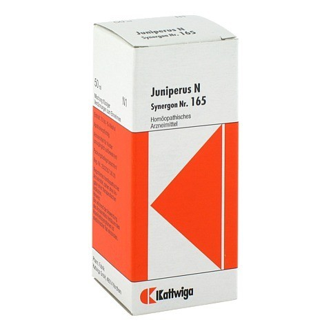SYNERGON KOMPLEX 165 Juniperus N Tropfen 50 Milliliter N1