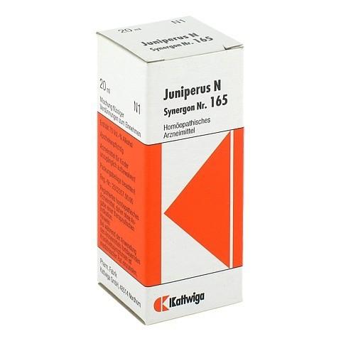 SYNERGON KOMPLEX 165 Juniperus N Tropfen 20 Milliliter