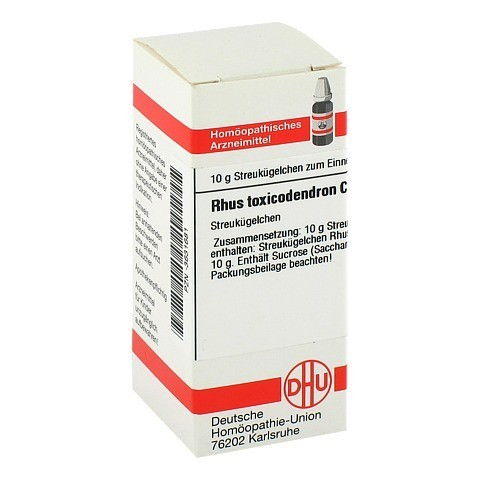 RHUS TOXICODENDRON C 6 Globuli 10 Gramm N1