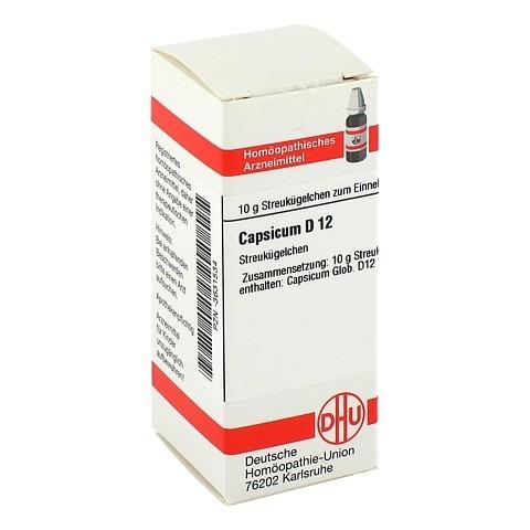 CAPSICUM D 12 Globuli 10 Gramm N1
