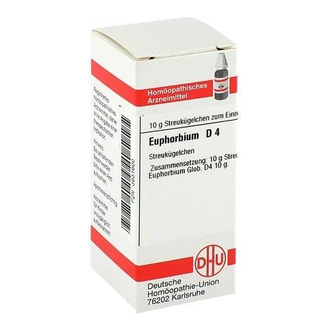 EUPHORBIUM D 4 Globuli 10 Gramm N1