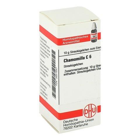 CHAMOMILLA C 6 Globuli 10 Gramm N1