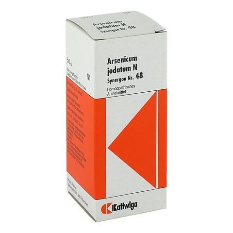 SYNERGON KOMPLEX 48 Arsenicum jodatum N Tropfen 50 Milliliter N1