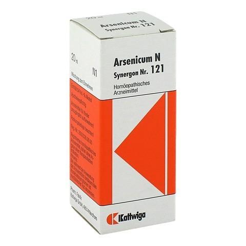 SYNERGON KOMPLEX 121 Arsenicum N Tropfen 20 Milliliter