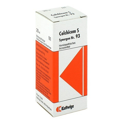 SYNERGON KOMPLEX 93 Colchicum S Tropfen 20 Milliliter
