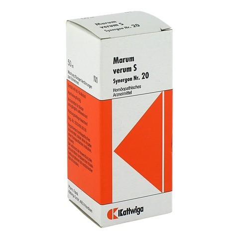 SYNERGON KOMPLEX 20 Marum verum S Tropfen 50 Milliliter N1