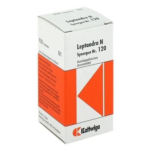 SYNERGON KOMPLEX 120 Leptandra N Tabletten 100 Stück