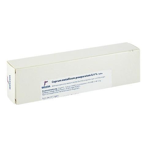 CUPRUM METALLICUM praep.0,4% Salbe 65 Gramm N2