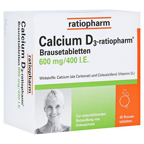Calcium D3-ratiopharm 600mg/400I.E. 40 Stück