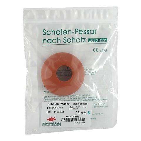 SCHALENPESSAR Silikon 60 mm n.Schatz 1 Stück