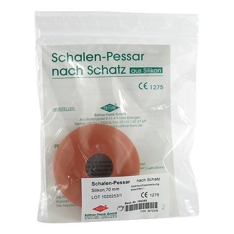 SCHALENPESSAR Silikon 70 mm n.Schatz 1 Stück