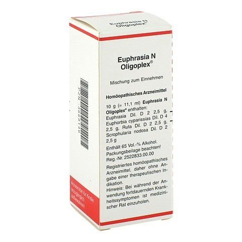 EUPHRASIA N Oligoplex Liquidum 50 Milliliter N1
