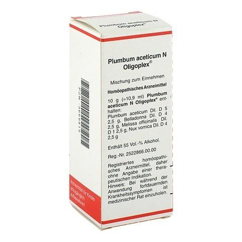 PLUMBUM ACETICUM N Oligoplex Liquidum 50 Milliliter N1