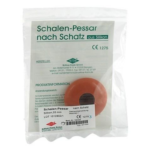 SCHALENPESSAR Silikon 55 mm n.Schatz 1 Stück