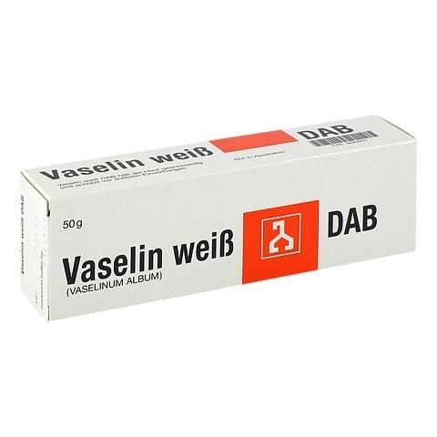 VASELINE WEISS DAB 50 Gramm