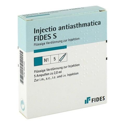 INJECTIO antiasthmatica Fides S Ampullen 5x2 Milliliter N1