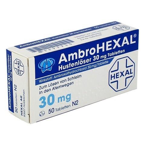 AmbroHEXAL Hustenlöser 30mg 50 Stück N2