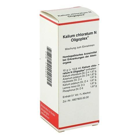 KALIUM CHLORATUM N Oligoplex Liquidum 50 Milliliter N1