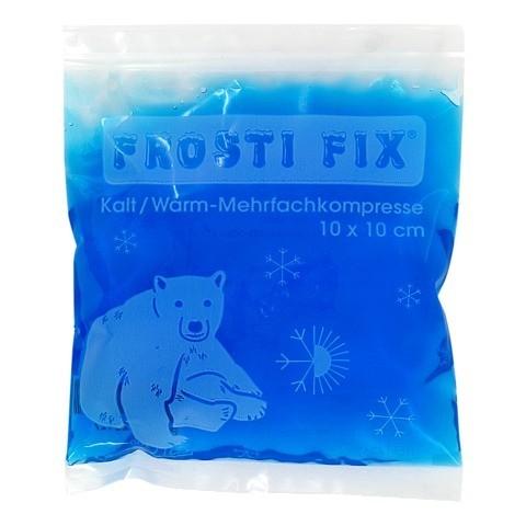 KALT-WARM Kompresse FrostiFix 10x10 cm blau 1 Stück