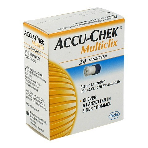 ACCU CHEK Multiclix Lanzetten 24 Stück