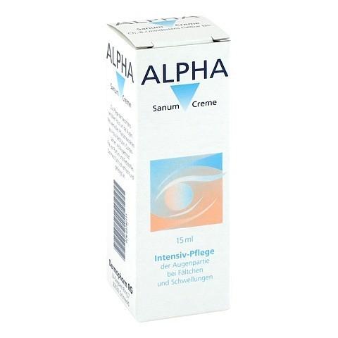 ALPHA SANUM Augencreme 15 Milliliter