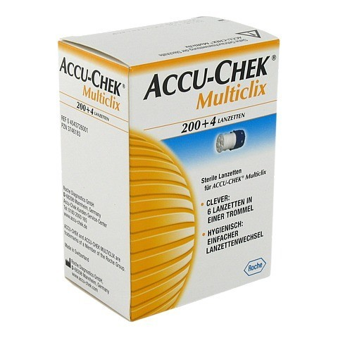 ACCU CHEK Multiclix Lanzetten 204 Stück
