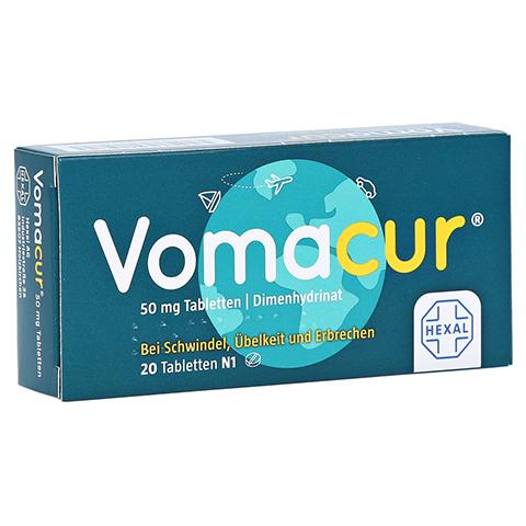 Vomacur 50mg 20 Stück N1