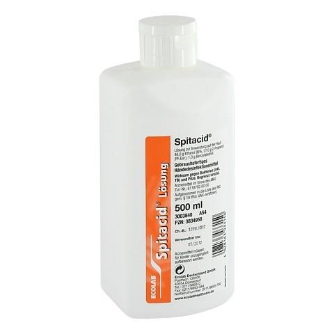 SPITACID Händedesinfektion Spenderflasche 500 Milliliter