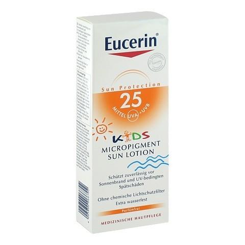 EUCERIN Sun Kids Micropigment Lotion LSF 25 150 Milliliter