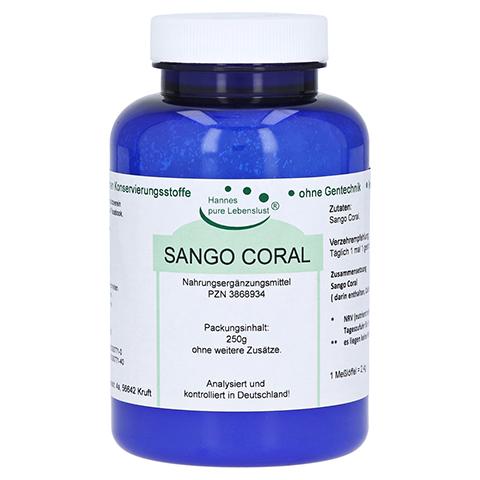SANGO CORAL pur Pulver 250 Gramm