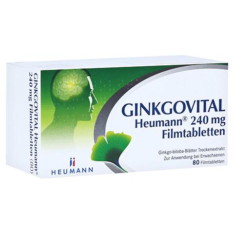 GINKGOVITAL Heumann 240mg 80 Stück