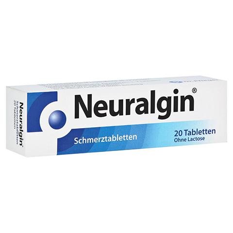 Neuralgin Schmerztabletten 250mg/200mg/50mg 20 Stück