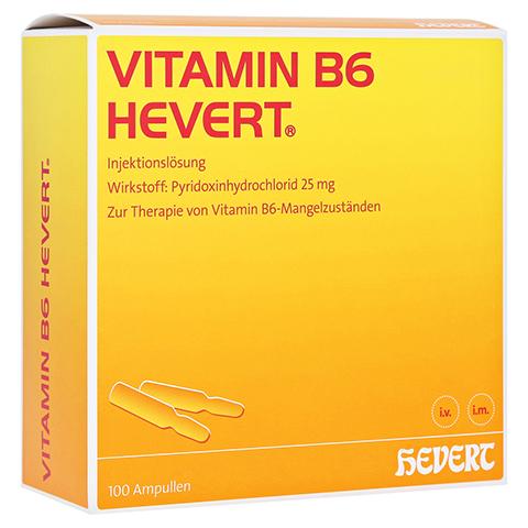 VITAMIN B6 Hevert Ampullen 100x2 Milliliter