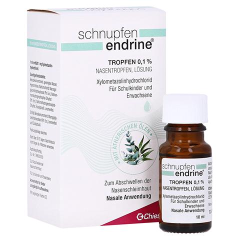 Schnupfen endrine 0,1% 10 Milliliter N1