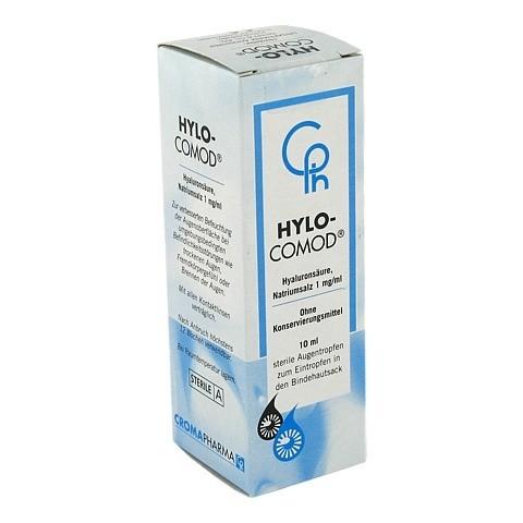 HYLO-COMOD Augentropfen 10 Milliliter