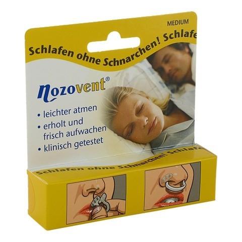NOZOVENT Nasenklammern 2 Stück
