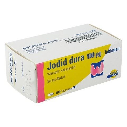 Jodid dura 100µg 100 Stück N3