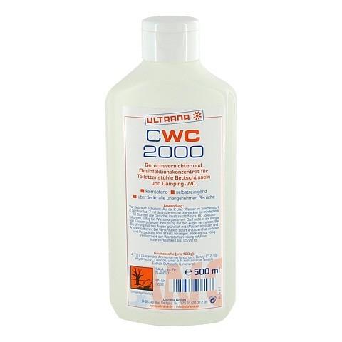 CWC 2000 Geruchsvernichter u.Desinfektion 500 Milliliter