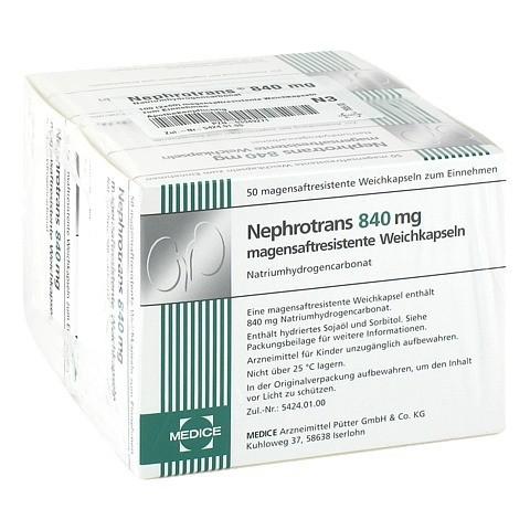 Nephrotrans 840mg 100 Stück N3