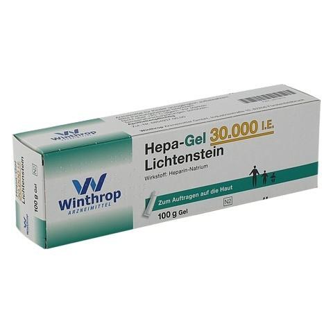 Hepa-Gel 30000I.E. Lichtenstein 100 Gramm N2