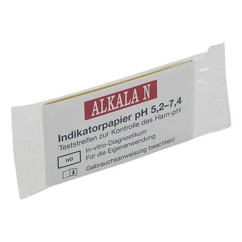 ALKALA N pH-Indikatorpapier 1 Stück
