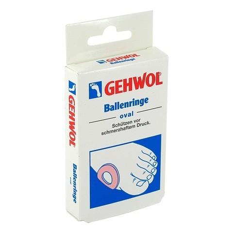 GEHWOL Ballenringe oval 6 Stück