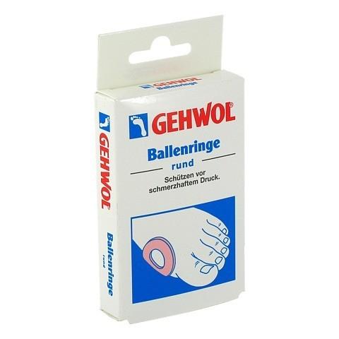 GEHWOL Ballenringe rund 6 Stück