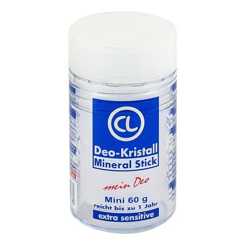 DEO KRISTALL Mineral Stick 60 Gramm