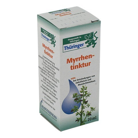 Thüringer Myrrhentinktur 20 Milliliter
