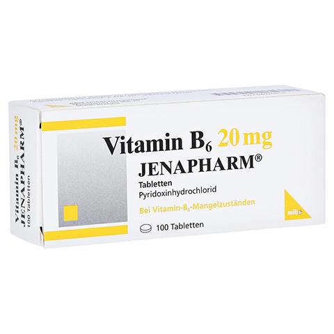 VITAMIN B6 20 mg Jenapharm Tabletten 100 Stück N3