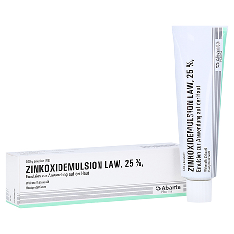 ZINKOXID Emulsion LAW 100 Gramm N3