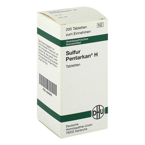 SULFUR PENTARKAN H Tabletten 200 Stück N2