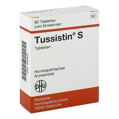 TUSSISTIN S Tabletten 80 Stück N1